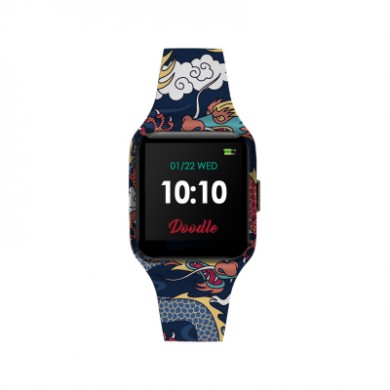 Doodle silicone unisex watch Smartwatch