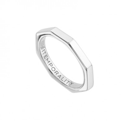 ITEMPORALITY Women Silver Ring